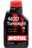 Купить Motul 4100 Turbolight 10W40
