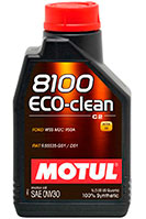 Купить Motul 8100 Eco-clean 0W-30