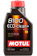 Купить Motul 8100 Eco-clean+ 5W-30