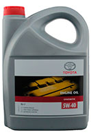 Купить Toyota Engine Oil 5W-40