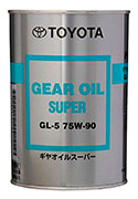 Купить Toyota Gear Oil Super 75W-90